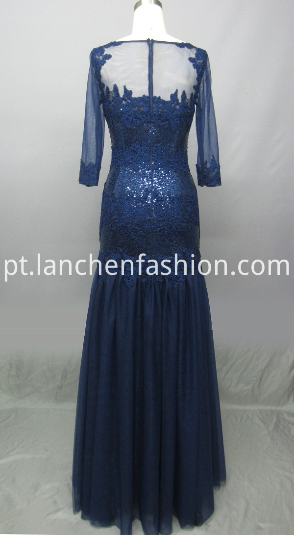 Sleeve Evening Gowns