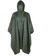 Waterproof Hooded PVC Army Raincoat Rain Poncho