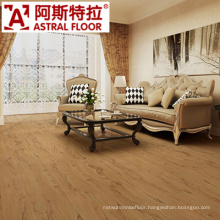 Yellow Color in 12mm Thickness Laminated Flooring