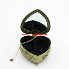 Cadeaux de mariage Souvenirs Boîte à bijoux en métal
