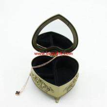 Presentes de casamento Lembranças Metal Jewelry Box