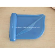 Plateau en plastique bon marché de contrefort de pillule de médecine avec le couteau