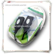 USB-адаптер для удлинителя RJ45 CAT5 / CAT5e / CAT6-кабель