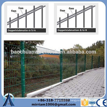 powder coated double wire mesh fence for farm support trade assurance