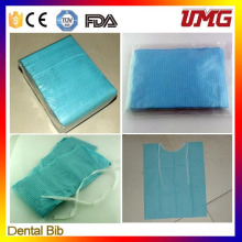 China Dental Material Disposable Dental Bib with CE, FDA Approval
