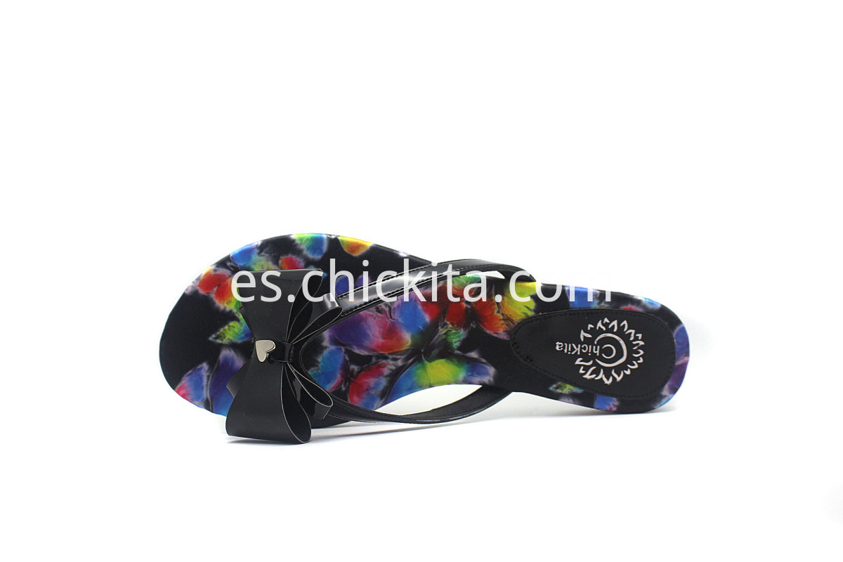 Ladies Fashion Sandals Slippers Flip Flops With a bow