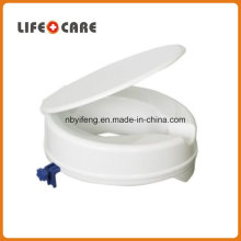 Disabled Plastic Raised Toilet Seat with Lid