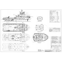 2276HP Tugboat Build In 2018