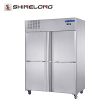 FRCF-5-1 FURNOTEL Edelstahl Kühlgeräte 4 Türen Kühlschrank und Gefrierschrank