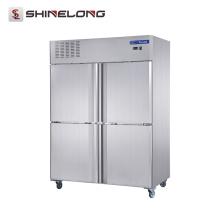 FRCF-5-1 FURNOTEL Equipamento de refrigeração de aço inoxidável 4 portas Geladeira e freezer