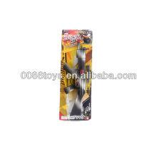 46 centímetros preto e branco Fire-pedra brinquedo Gun