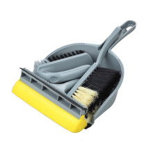 Windproof factory wholesale long handle broom and dustpan set household cleaning dustpan