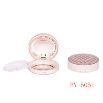 Adorable Round Pink Compact Powder Container