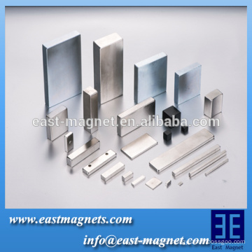 Customized Permanent neodymium Magnet in block Shape