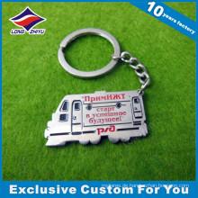Werbungs-Logo-konkurrenzfähiges Großhandelsmetallauto geformtes Keychain-Geschenk