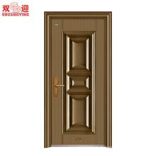 projetos modernos da porta para a porta de aço inoxidável das casas