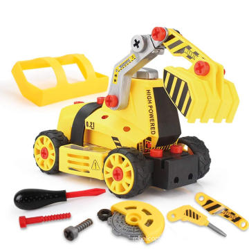 Amazon Hot Toy Manufacturers STEM DIY Truck Car Kit Assembly Toy from China