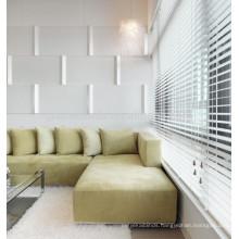 White wood Venetian Blinds customized venetian blinds