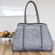 Sacs à main en néoprène shopping femme durable