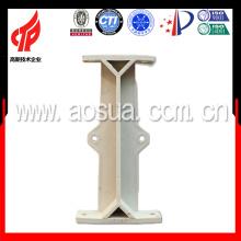 Columna de soporte para torre de enfriamiento, columa de PVC
