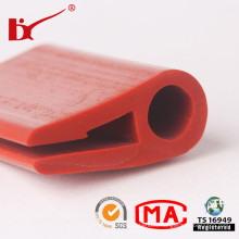 China Factory Exrude Silicone Rubber Door Seal with Custom Size