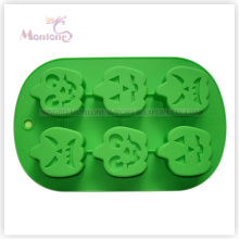 FDA & LFGB Bakeware Baking Halloween-Shaped Silicone Cake Mould