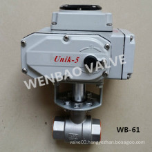 Electric Motorized Two Piece NPT Ball Valve 2 Inch