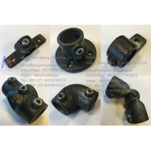 Pince de fer malléable noire Clamp for Construction