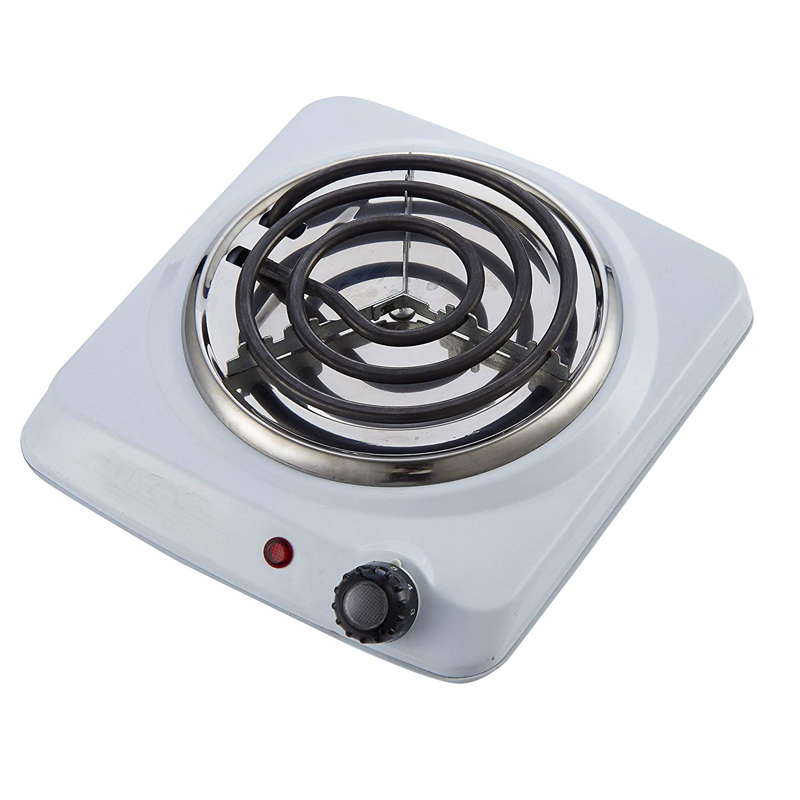 Coiled portable Hotplate