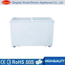 SC / SD (W) -286 Supermarkt flaches unteres Display Eiskühltasche Gefrierschrank