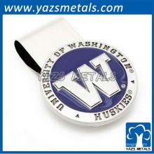 gravar logo letter custom wallet money clip