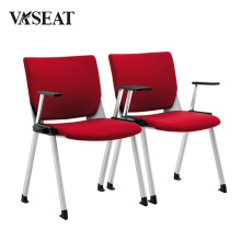 Lowback Stackable Ergonomic Conference Chair with Height Adjustable Armrest
