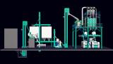 Maize Milling Machine, 100t/D Flour Milling Equipment (100t/24h)