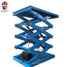 china suppliers ce material handling equipment scissor lifts / hydraulic electric cargo lift prices