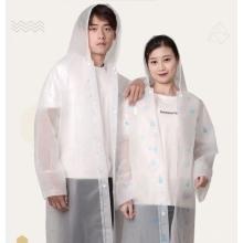 Adult Long Jacket Style Safety Raincoat