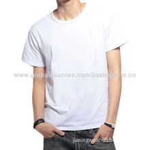 100% Cotton Blank Organic Cotton T-shirts, OEM Orders are Welcome