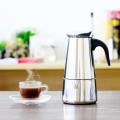 Acero inoxidable de alta calidad 2Cup Coffee Kettle / Moka Pot / Mini Coffee Maker