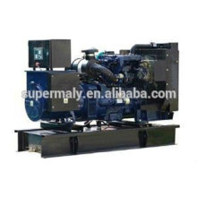 85kva AC three phase output supersilent diesel generator set with canopy