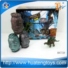 2014 Montaje más popular pequeños juguetes de plástico de dragón para niños