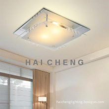 Decorative glass Ceiling Light for guest room