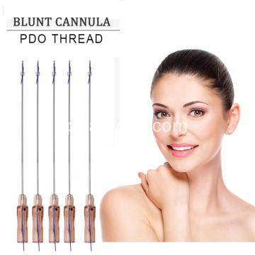 Cuidados com a pele médica face lifting pdo thread