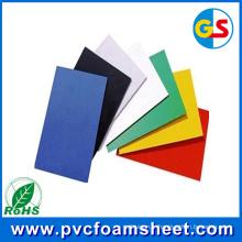 Fabricant de feuille de mousse de PVC noir de 18mm (taille chaude: 1.22m * 2.44m)