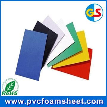 Fabricante de folha de espuma de madeira de PVC de 18 mm na China (espessura quente: 1.22m * 2.44m)