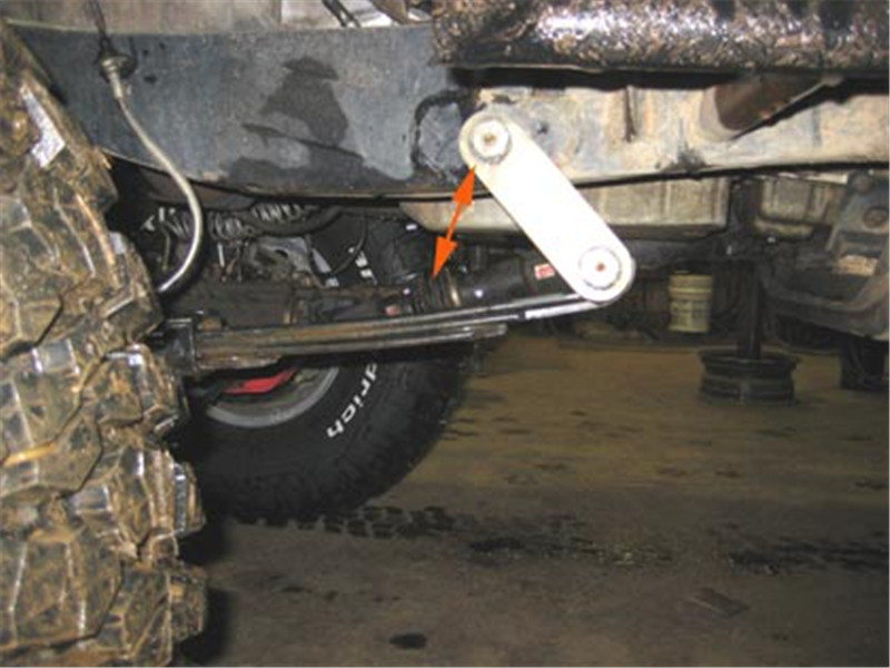 Suspension Leaf Spring Front Shackle