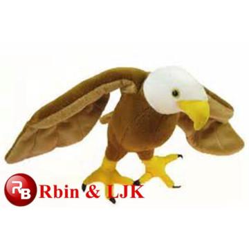 Nuevo juguete de peluche águila