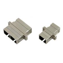 Sc / FC / St / LC Sm, Mm Simplex Adaptador de fibra óptica dúplex