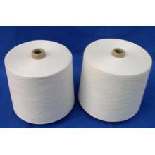 Différents types de fil de coton de polyester