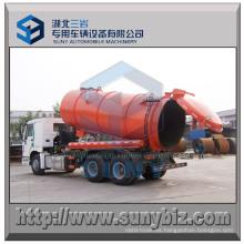 Camión de succión de aguas residuales camión tanque de vacío de 15000 litros 6X4