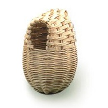 Percell Long Egg Shaped Rattan Bird Nest