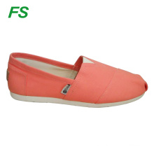 latest power pink canvas shoes women